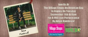 Adam Hambrick Live Performance at The Village Shops on Venetian Bay!