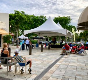 Adam Hambrick Live Performance at The Village Shops on Venetian Bay, Naples Shopping and Dining Destination
