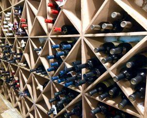 M Waterfront Grille Wine Storage