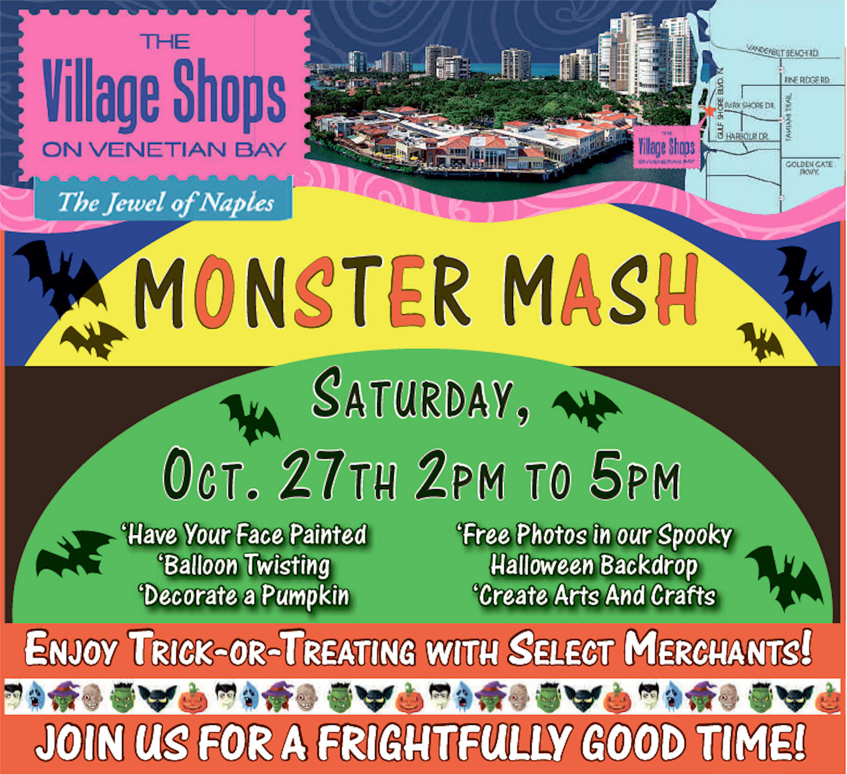 Monster Mash at The Village Shops on Venetian Bay!