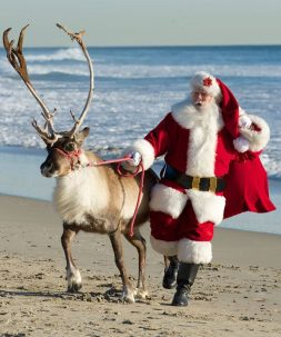 Get Social With Santa Social Media Giveaways at The Village Shops!