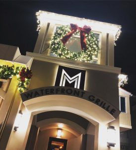 M Waterfront Grille Holiday