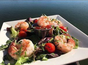 MiraMare Ristorante Shrimp Dinner