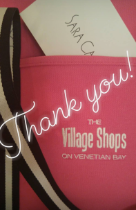 Get Social With Santa Holiday Giveaways on The Village Shops on Venetian Bay Social Media Accounts