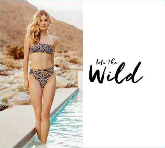 Walk on the Wild Side with Everything But Water! Everything But Water Into The Wild Leopard Collection. The Village Shops on Venetian Bay