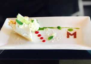 M Waterfront Grill Key Lime Pie, Naples Dining, Waterfront Dining