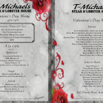 T-Michaels Steak & Lobster House Valentine's Day Menu, Waterfront dining, The Village Shops on Venetian Bay, Naples Dining