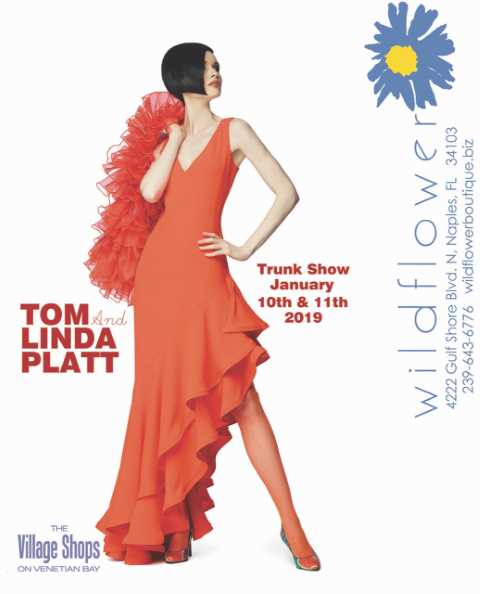 Tom & Linda Platt Trunk Show at Wildflower Boutique