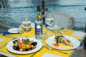 MiraMare Ristorante at The Village Shops on Venetian Bay, Waterfront Shopping in Naples Florida