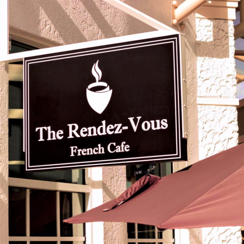 Rendez-Vous French Cafe at The Village Shops on Venetian Bay, Coffee, Best Crepes in Naples
