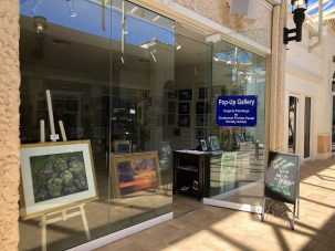 The Pastel Society Pop-up Gallery at The Village Shops on Venetian Bay