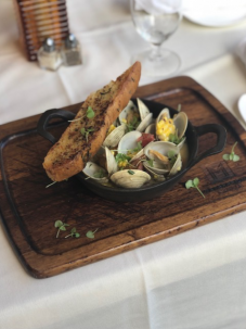 Braised Littleneck Clams, Dining at The Village Shops on Venetian Bay, Naples Dining, Dining in Naples, Waterfront Dining