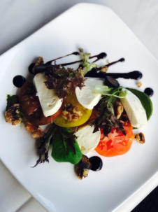 Heirloom Tomato Salad, Dining at The Village Shops on Venetian Bay, Naples Dining, Dining in Naples, Waterfront Dining
