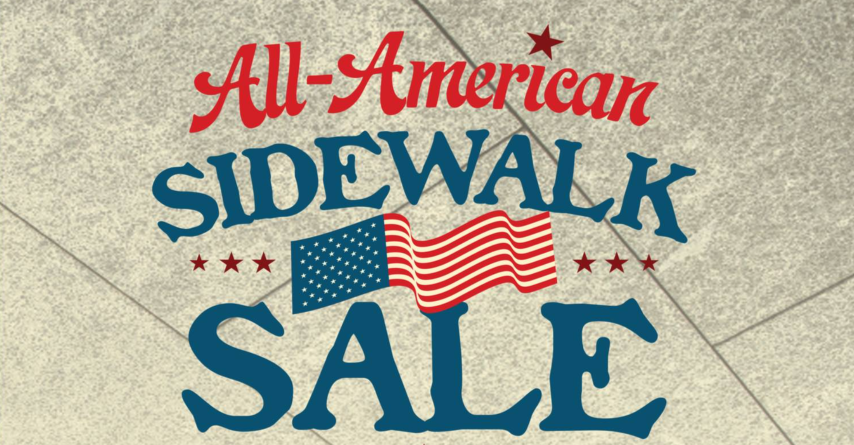 All American Sidewalk Sale, Naples Sidewalk Sale, Venetian Village Sidewalk Sale, Village Shops Sales