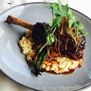 Slow Roasted Colorado Lamb Shank, M Waterfront Grille, Dining at The Village Shops on Venetian Bay, Naples Dining, Dining in Naples, Waterfront Dining