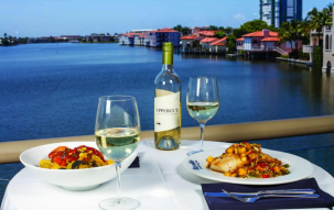 Bayside Seafood Grill & Bar, Upper Deck, Bayside, Waterfront Dining