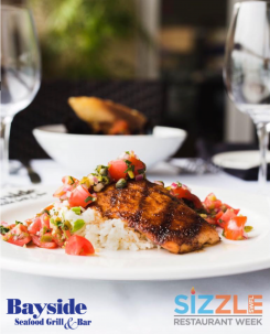 Sizzle SWFL Restaurant Week, Discounted dining, naples dining, dining at The Village Shops, naples food, Naples Restaurants, waterfront dining, Bayside Seafood Grill & Bar
