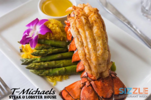 Sizzle SWFL Restaurant Week, Discounted dining, naples dining, dining at The Village Shops, naples food, Naples Restaurants, waterfront dining, T-Michaels Steak & Lobster House